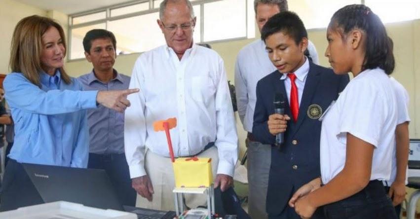 Sector Educación seguirá fortaleciendo la enseñanza pública en secundaria - MINEDU - www.minedu.gob.pe