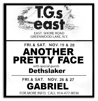 T.G.'s East band lineup