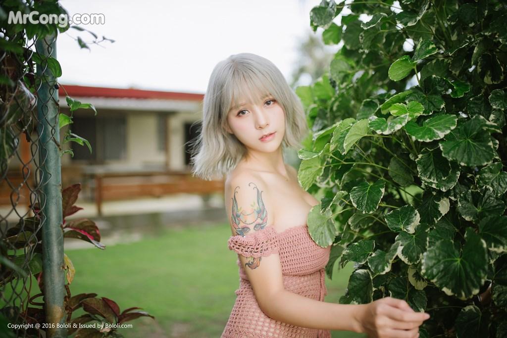 Image Bololi-2017-10-30-Vol.127-Xia-Mei-Jiang-MrCong.com-003 in post Bololi 2017-10-30 Vol.127: Người mẫu Xia Mei Jiang (夏美酱) (62 ảnh)