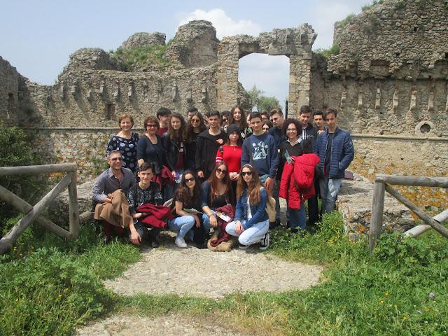 Πρέβεζα: Εκπαιδευτική επίσκεψη του 4ου Γυμνασίου Πρέβεζας στο Ιταλικό σχολείο G.Berto στο Vibo Valentia της Καλαβρίας – Κάτω Ιταλία