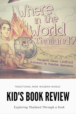 Children's book review teaching kids about the world