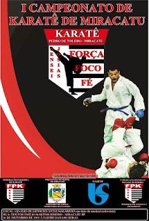 I Campeonato de Karatê de Miracatu