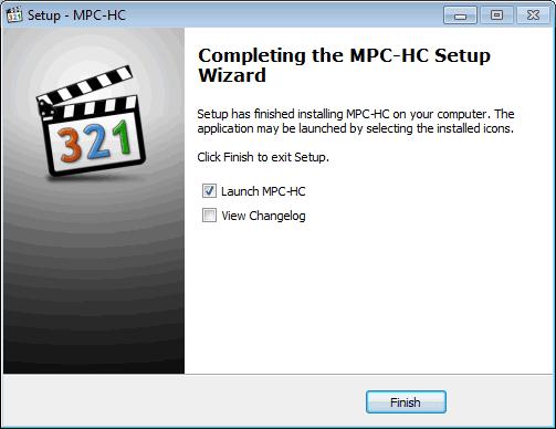 Instal MPC-HC O9