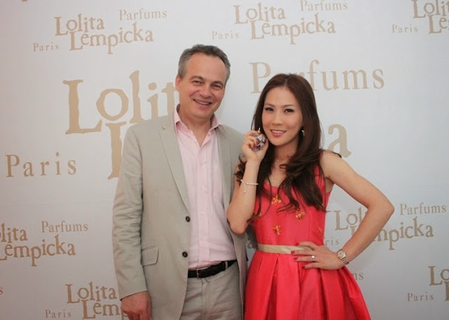 Lolita Lempicka L'Eau Jolie Launch, Frangrance, Lolita Lempicka, Pascal Pichon, Lolita Lempicka Regional Director of Asia Pacific & Middle East, Charmaine Poo