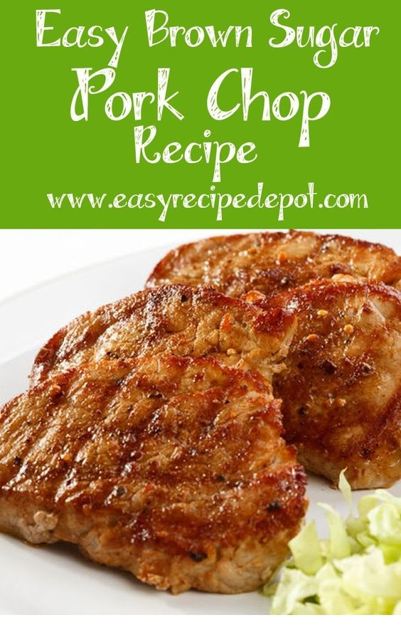 Easy Brown Sugar Glazed Pork Chops Recipe
