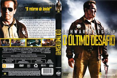 Filme O Último Desafio (The Last Stand) DVD Capa