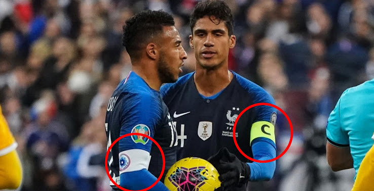 compromiso Establecimiento A bordo  Here Is Why All France Players Wore White Armband vs Moldova - Footy  Headlines