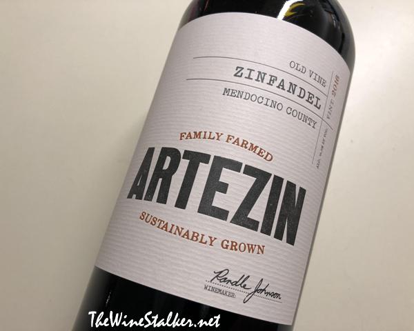 Artezin Mendocino County Old Vine Zinfandel 2016