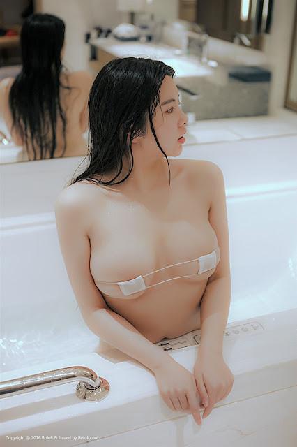 Hot girls Sexy angle porn star with Bandage bikini 15
