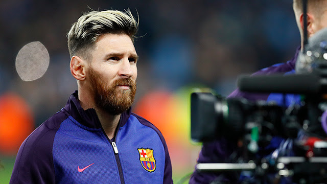 adidas y el Manchester United ya saben como sacar a Messi del Barcelona