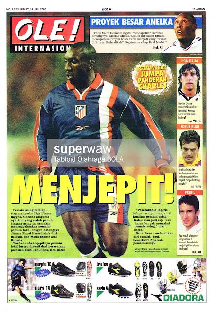 JIMMY FLOYD HASSELBAINK ATLETICO MADRID
