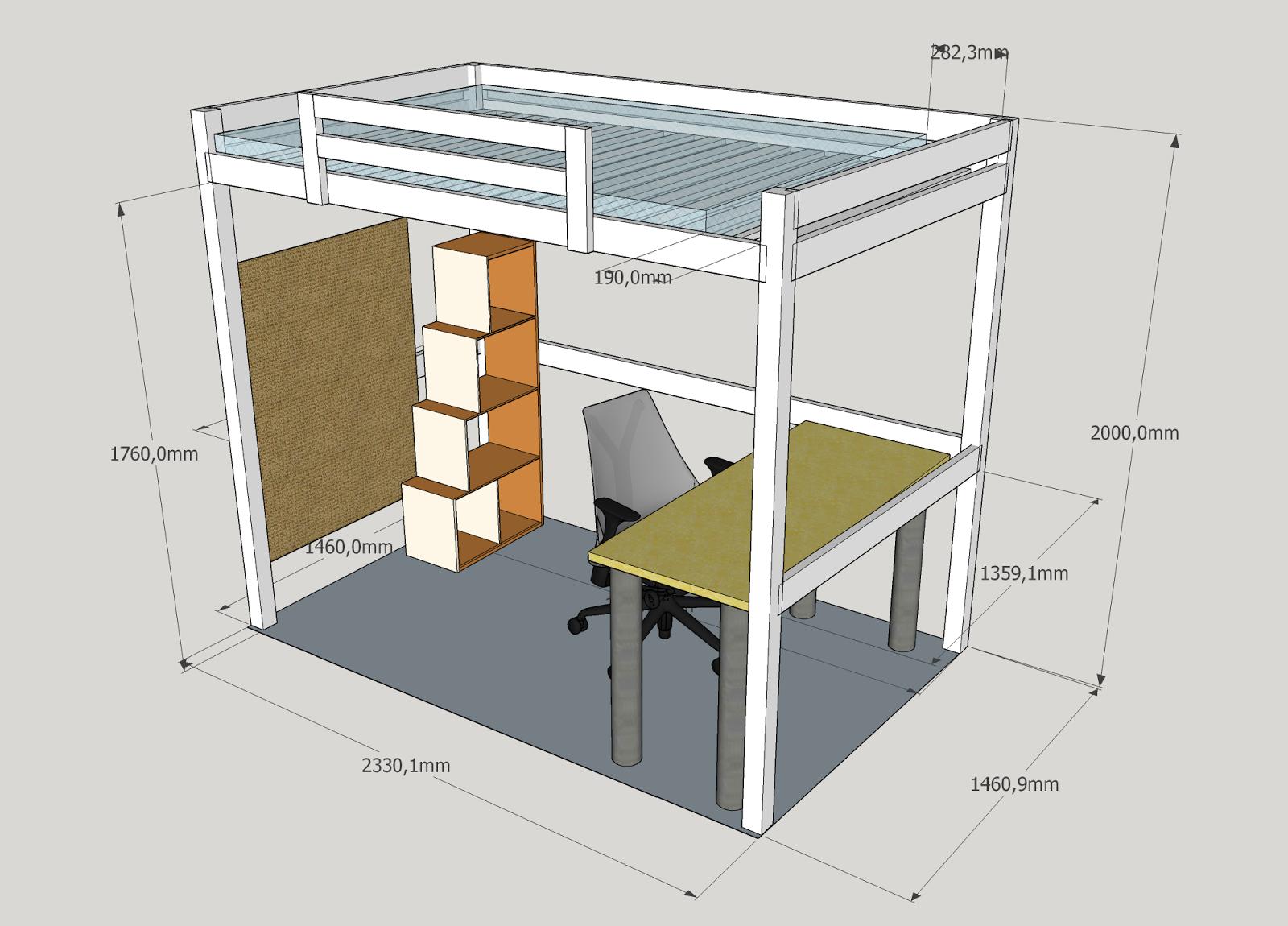 Un letto a soppalco..! | Progetti di Legno