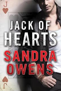 romance novel cover, romantic suspense, Jack of Hearts by Sandra Owens