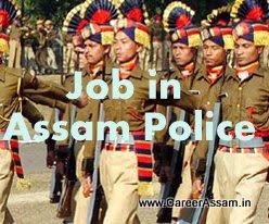 Job In Assam Police
