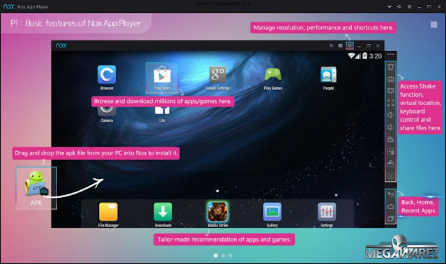 Nox App Player 3 imagenes