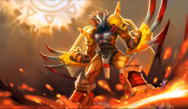 Wargreymon Wallpaper Engine