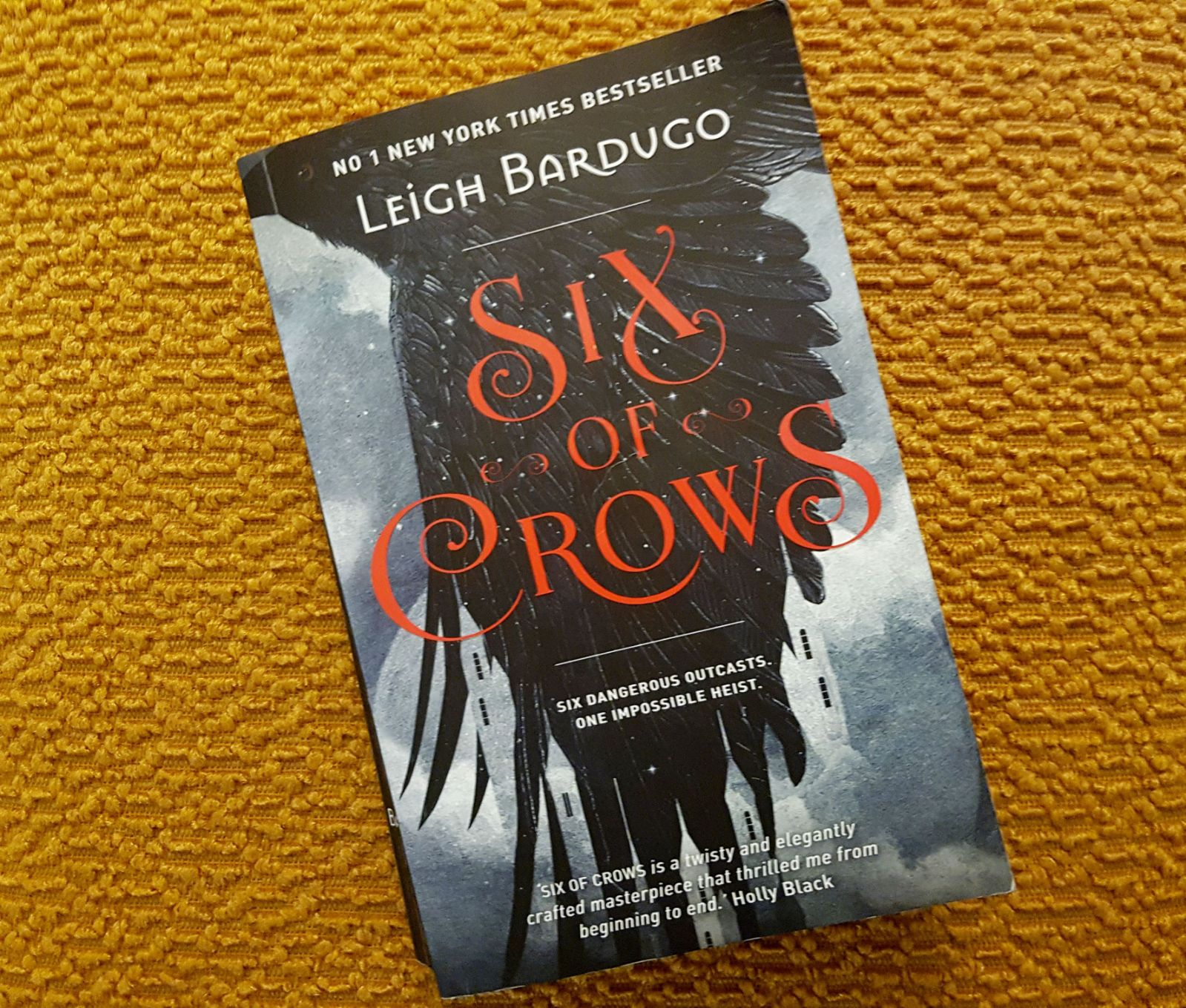 Six of Crows by Leigh Bardugo Review, Grisha trilogy