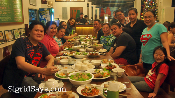Rau-Ram Thanksgiving dinner with Bacolod bloggers