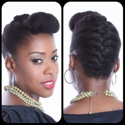 Essenceja 20 Awesome Hairstyle For Natural Hairs