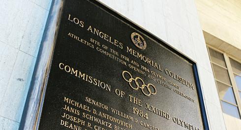 los angeles memorial coliseum historic landmark