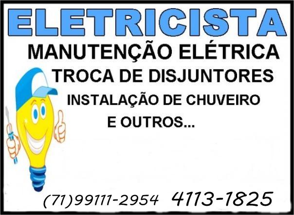 Mudança de tenção 110V para 220V OU 220V para 110V em Salvador-BA 71-4113-1825
