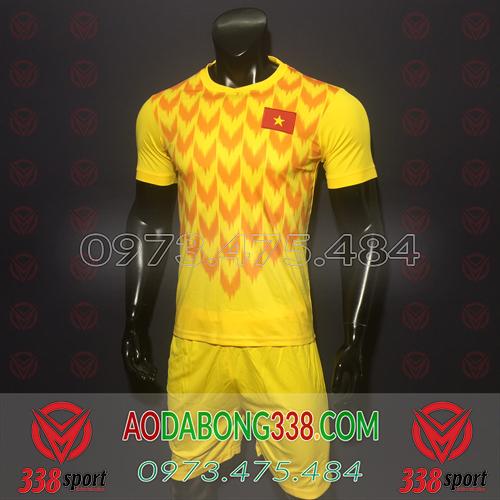 Áo Đội Tuyển Việt Nam 2019 2019 TM Vàng