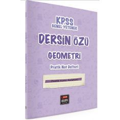 Fem Akademi KPSS Dersin Özü Geometri Pratik Not Defteri (Tüm Adaylar)