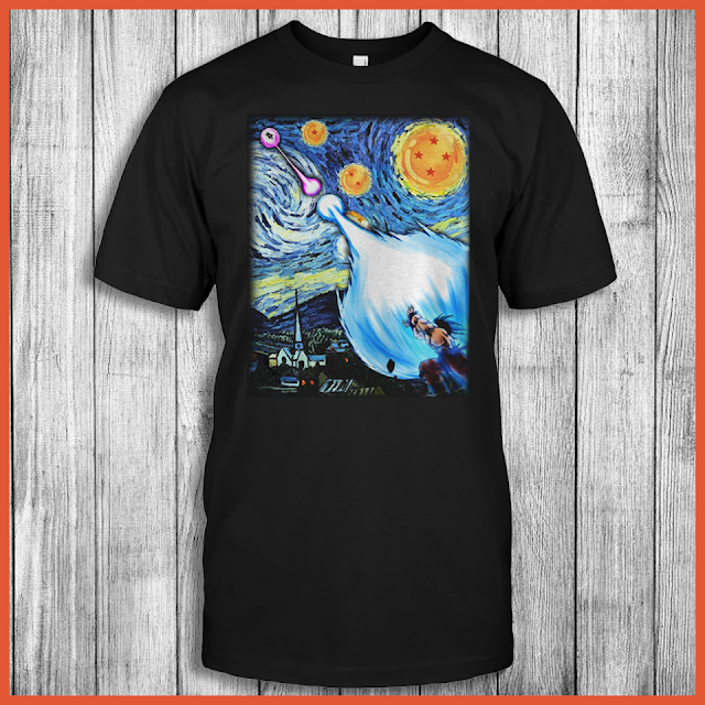 Goku vs vegeta starry night Shirt