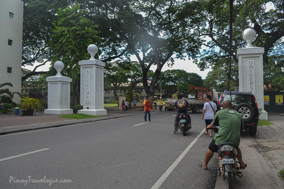 Entrance to Silliman University