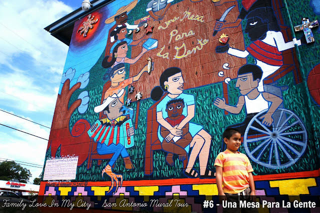 San Antonio Mural Tour - Family Love In My City