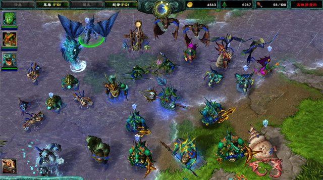 Warcraft 3 download free. full Game Mac