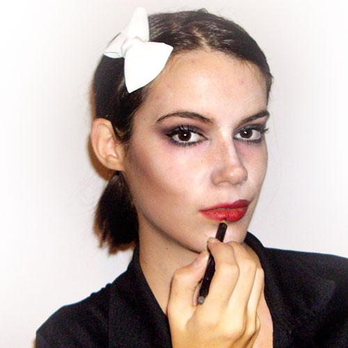 maquillaje casero para disfraz de zombie paso 9 monika sanchez