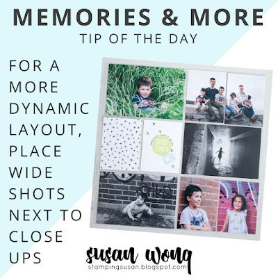 Memories & More Tip - Susan Wong