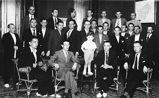 Participantes en el Trofeo Farré de Ajedrez 1933