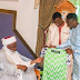 Ahmed Musa Visits Sultan Of Sokoto,Gives Him Customized Super Eagles Jersey [Photo]