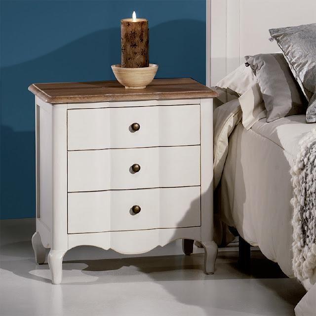 Muebles de dormitorio mesillas de noche un basico for Mesillas noche redondas