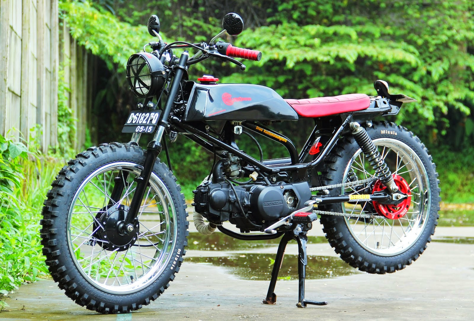 Koleksi Contoh Modifikasi Motor Honda Win Di Motor Dinas