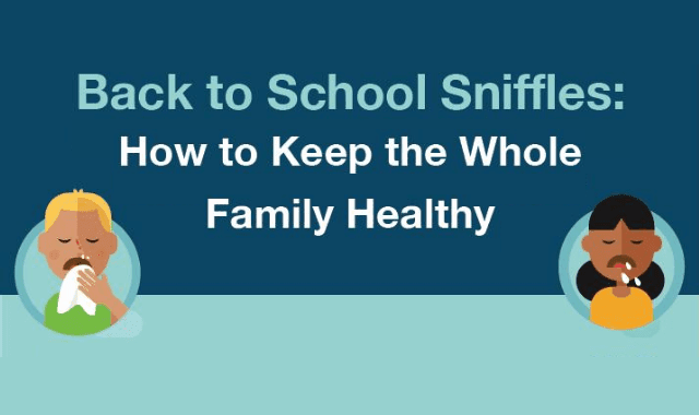 Back To School Sniffles: How To Keep The Whole Family Healthy