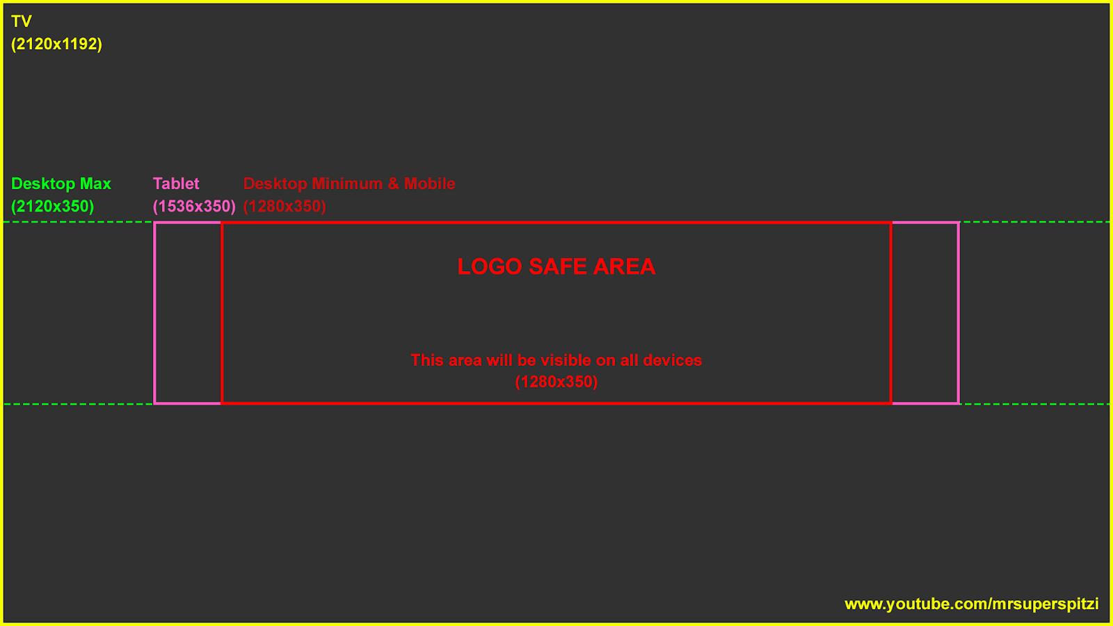 Capa De Youtube 2048x1152: Capa Para Youtube No Novo Padrão Feita No