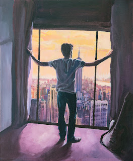 Eyes Wide Open, Aynsley Lister. Front cover painted by Anthony Greentree