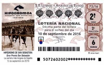 Loteria nacional sabado 10 septiembre 2016