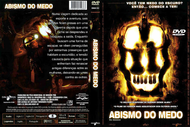 Capa DVD Abismo do Medo