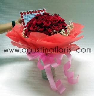 jual-bunga-valentine-buket-mawar-merah-gresik
