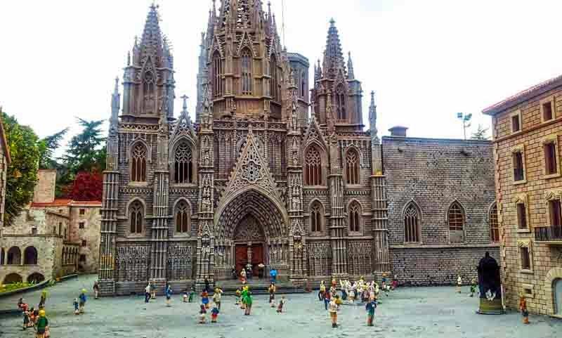 Catalunya en miniatura: La Catedral de Barcelona
