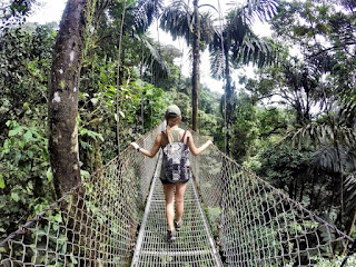 Hanging Bridge - Outbound Lembang Bandung