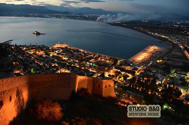 Παρέμβαση του Δήμου Ναυπλιέων στον ηλεκτροφωτισμό του Παλαμηδίου
