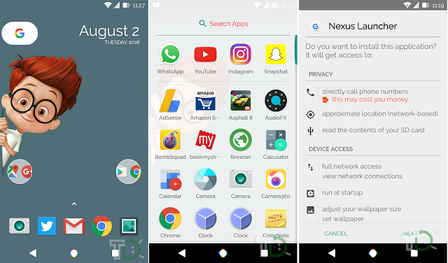 [Download] 2016 Google Nexus Launcher