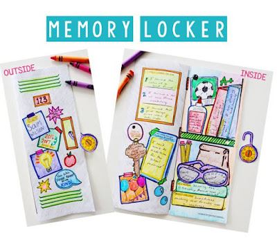 This end of the year activity is all about reflection and fun! Students will be creating a doodle locker filled with memories and lessons from their school year.
