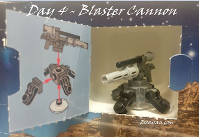Lego Star Wars advent calendar day 4 - Blaster cannon