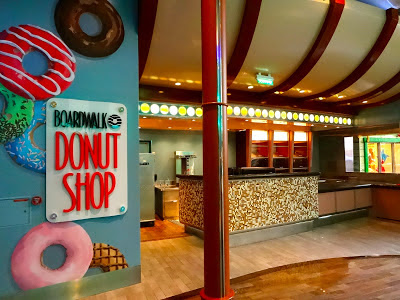 Oasis of the Seas Donut Shop